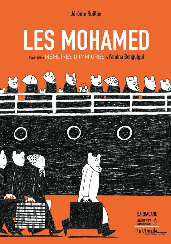 Couv Mohamed boutique - Roman graphique Les Mohamed