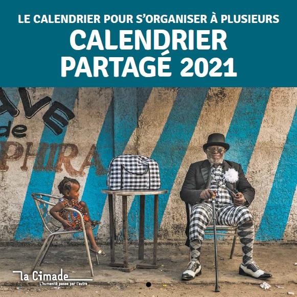 Couv cal partage 2021 - Calendrier partagé 2021