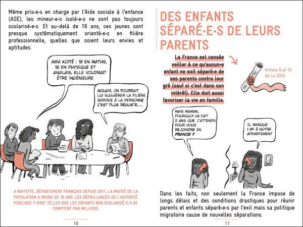 La Cimade Petit Guide Enfance 2020 p10 11 600x450 - Protéger les enfants et leurs droits