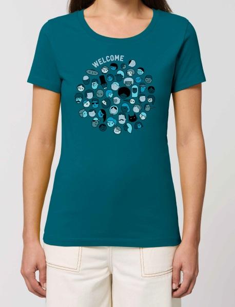 """T shirt welcome femme - T-shirt femme """"Welcome"""""""