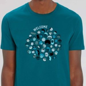 """T shirt welcome homme mini 300x300 - T-shirt homme """"Welcome"""""""