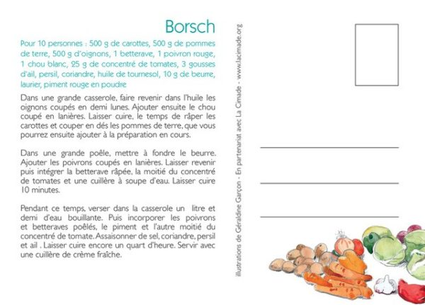 cartes soupes verso 600x431 - Lot de cartes - Les bonnes soupes